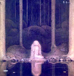Fairies - Princess Tuvstarr by John Bauer
